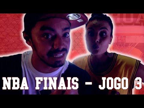 Rodada NBA 16/17 #29 Finais - JOGO 3 - Canal Chuá - 동영상