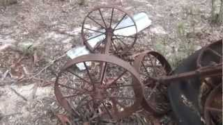 Old Abandoned Australian Farm Machinery - The Lister - Bullock / Horse Drawn Plough