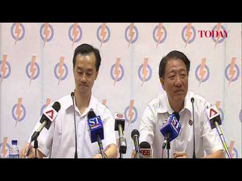 PAP Press Conference introducing Punggol East By-Election candidate Dr Koh Poh Koon