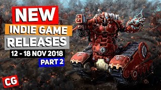 9 Upcoming Indie Game New Releases: 12th – 18th November 2018 – Part 2: Golf Peaks & More!