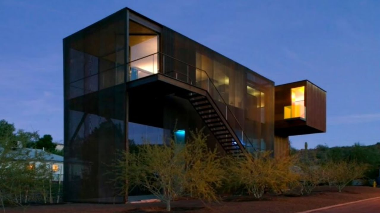 41 modern homes in phoenix youtube for Home architecture you tube