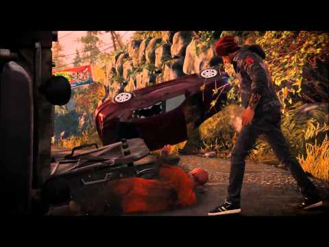 Infamous Second Son part 1 - Get To The Longhouse