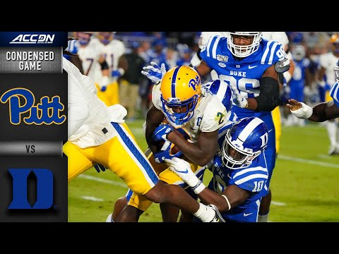 Pittsburgh Vs. Duke Condensed Game | ACC Football 2019-20