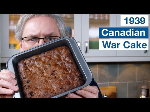 🔵 Canadian War Cake OR Depression Cake  || Glen & Friends Cooking
