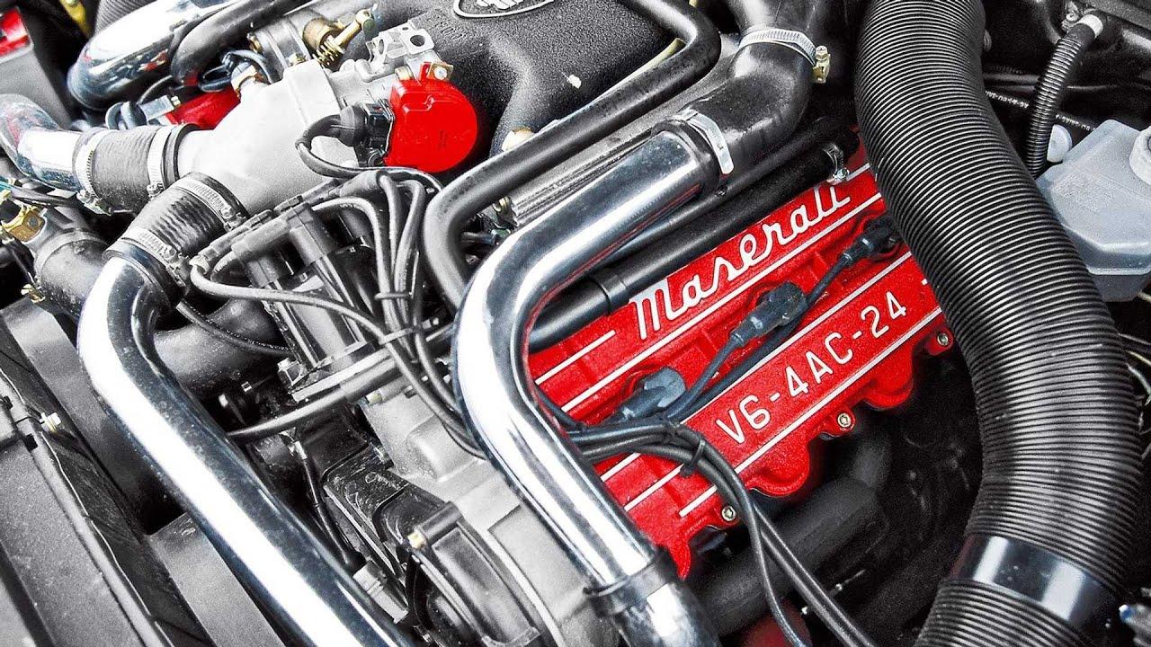 Motore Maserati 2.24v - YouTube