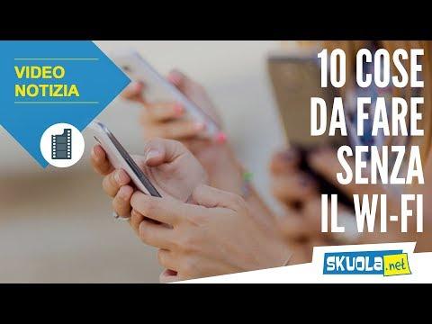 10 cose da fare senza il wi-fi