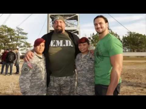 Top 5 WWE Superstars who Served in the U.S. Military | John Cena US Military Marine