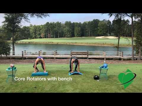 Cardiogolf 5-Minute Workout Break-Core Rotators