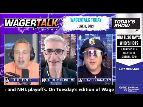 Free Sports Picks and Sports Betting   MLB Picks & Prop Betting Analysis   WagerTalk Today   June 8