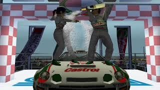 Sega Rally 2 - 1st Year, 10Year Championship