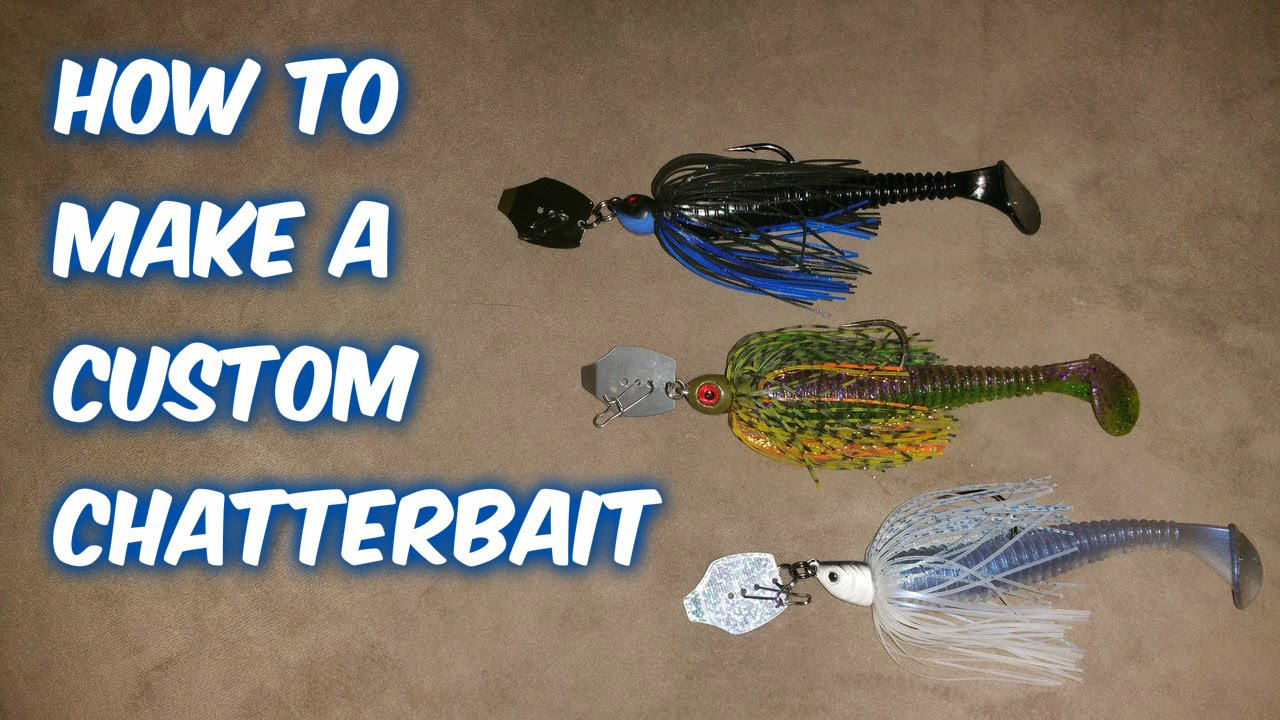 how to make a custom chatterbait - youtube