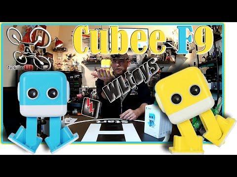 Cubee F9 WLtoys ROBOT Danceur Enceinte Bluetooth Review Test Démo ... Move your Body !