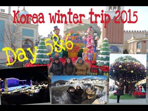 korea winter trip 2015 everland youtube. Black Bedroom Furniture Sets. Home Design Ideas