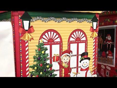 Dollar Tree || Charming Cardboard Village Shops || Dollar Tree Christmas Decor || Gift Ideas 2017