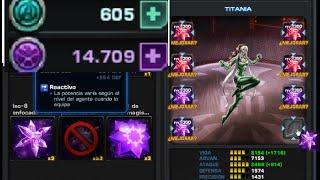Traje TITANIA MODERNO Gastando +500 CP Puntos de Comando & NUEVO Modern Rogue