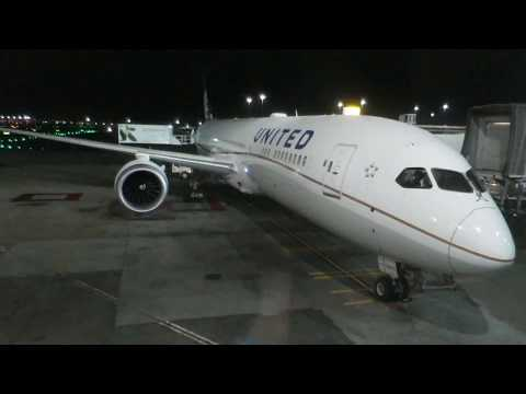 United Airlines UA 863 SFO To SYD (Sydney Kingsford) On Boeing 787-9!