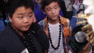 Disney's MOANA Premiere - Fresh off the Boat Cast - Hudson Yang, Forrest Wheeler & Ian Chen