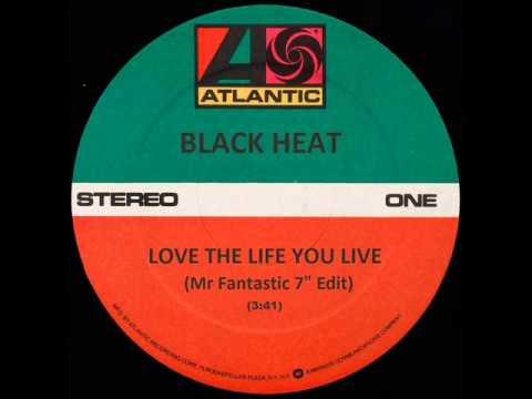 """Black Heat - Love The Life You Live - Mr Fantastic 7"""" Edit - Funk 45 Breakbeat B-Boy Breaks"""