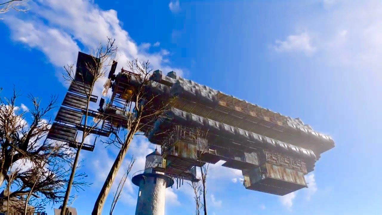 Fallout  Mod Explore More Buildings