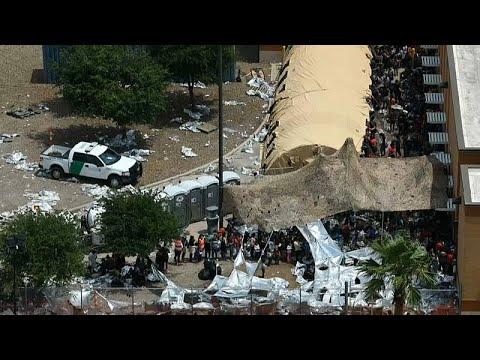 شاهد: مأساة المهاجرين غير الشرعيين على الحدود الأميركية-المكسيكية…  - 15:54-2019 / 5 / 16