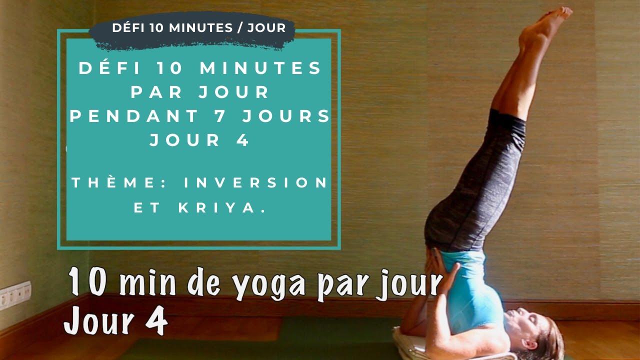 ❤ Défi yoga  10 minutes de yoga par jour pendant 7 jours - Jour 4 ... 137fdf9d5e7