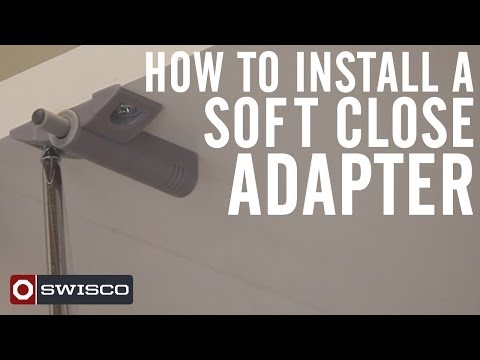 How To Install A Soft Close Adapter On Cabinet Doors