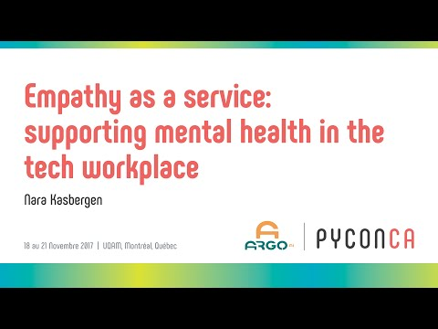 Image from Empathy as a service: supporting mental health in the tech workplace