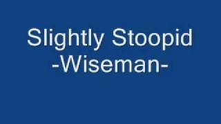 Slightly Stoopid Wiseman