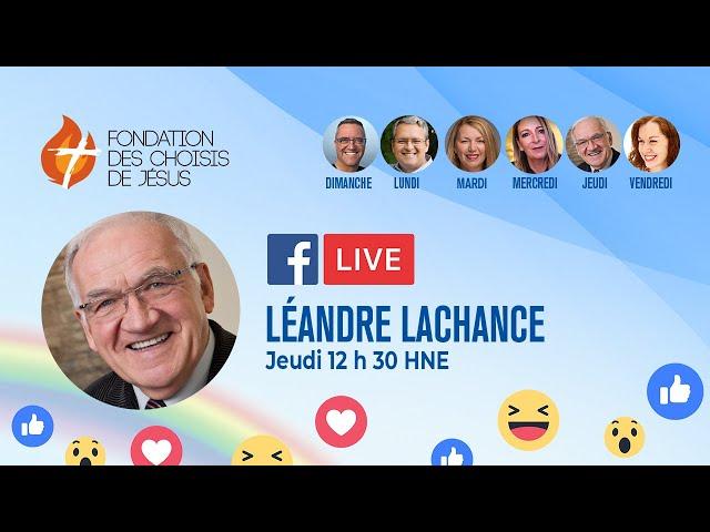 Facebook Live quotidien 08/04/2021 - Relevez la tête