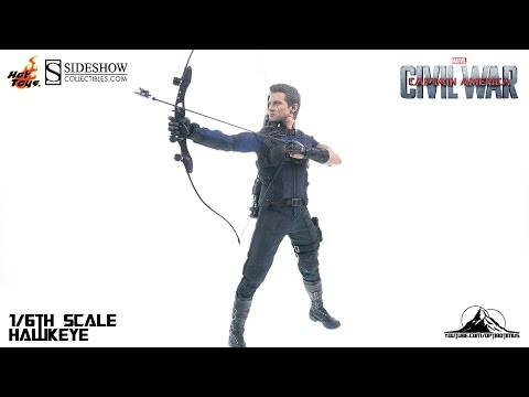 Hot Toys Captain America Civil War HAWKEYE Video Review