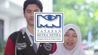 #TantanganBerbagiBuku Yayasan Mitra Netra Bogor