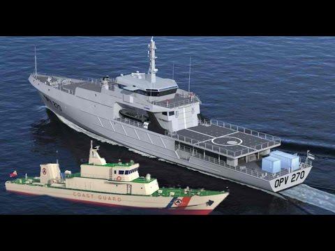 PH Coast Guard gets 2nd patrol ship from Japan