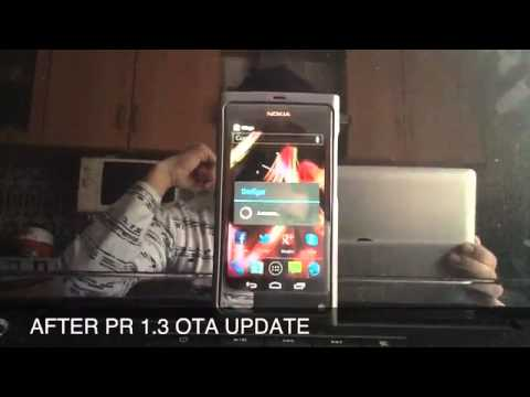 Nokia N9 Custom ROM Videos - Waoweo