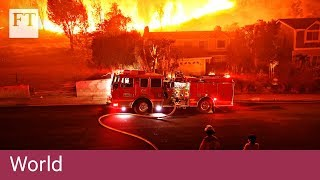 More than 600 missing in California blazes