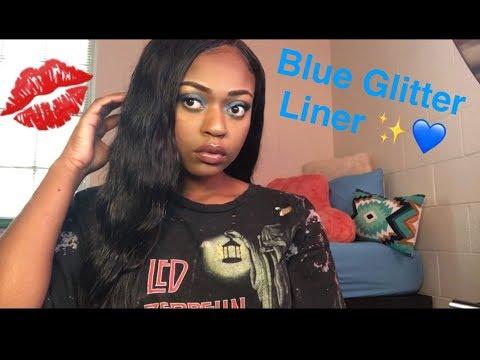 Blue Glitter Liner 💙✨ | Asia Glam