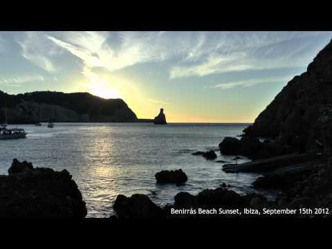 Benirras Beach Sunset, Ibiza, September 15th 2012