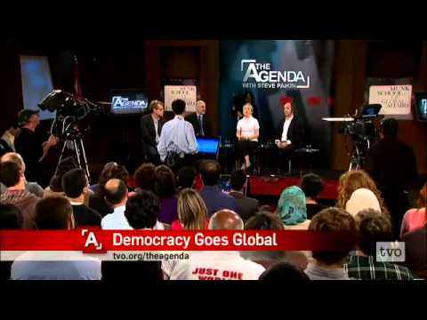 'Democracy Goes Global' Munk School web cast