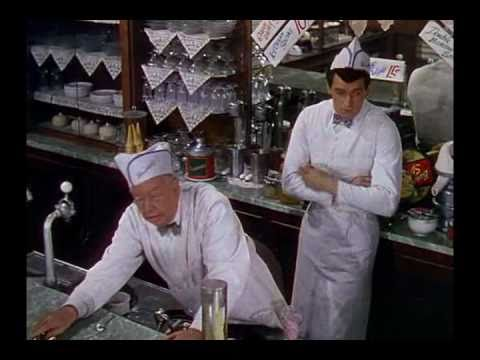 Rock Hudson on How to be a Soda Jerk