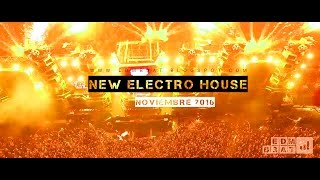 New Electro House EDM Mix Noviembre 2016 (Nombres y Descarga de cada track)