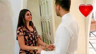 SHE SURPRISED HIM *EMOTIONAL*  !!!