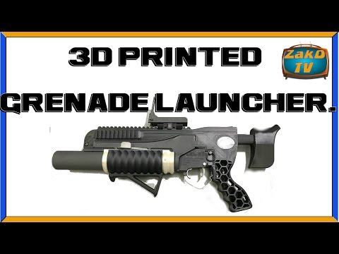3D PRINTED GRENADE LAUNCHER, New info on California quakes, Data storage on atoms and more