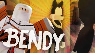 Bendy and The Ink Machine In Roblox! (Game / Gameplay)