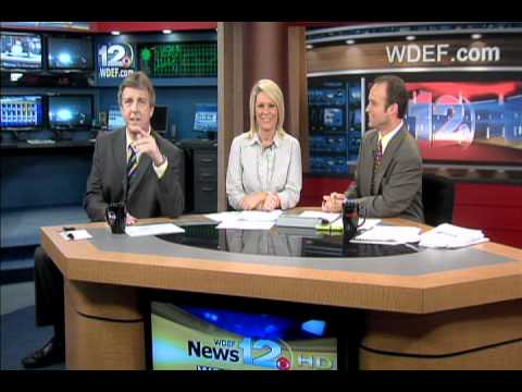 WDEF News 12 This Morning: Chip Busts A Move