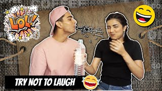 TRY NOT TO LAUGH CHALLENGE!!🤣 ft. GujjuUnicorn (gone wrong 🤯)