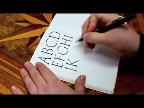 Roman Capitals practice | Seb Lester Calligraphy