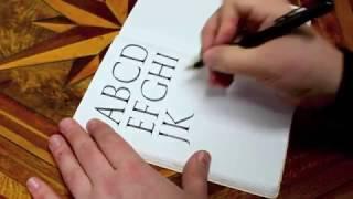 Roman Capitals practice   Seb Lester Calligraphy