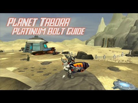 Ratchet & Clank 2: Going Commando HD - Planet Tabora Platinum Bolt Guide