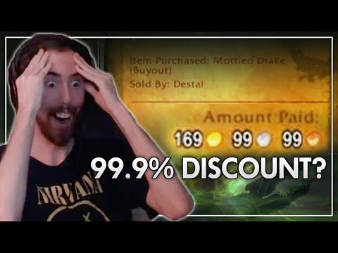 How Asmongold Got a 169,000g Mount for 169 GOLD (Best of Asmongold Ep. 64)