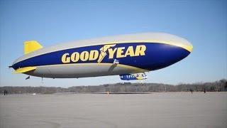 ► New Goodyear Blimp takes first flight thumbnail