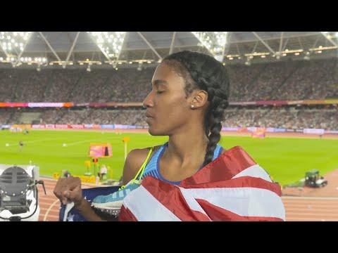 WCH 2017 London–Ajee Wilson USA 800 Metres Bronze
